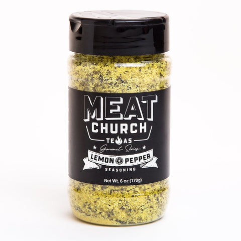 Meat Church Gourmet Series - Lemon Pepper - Dickson Barbeque Centre Canada