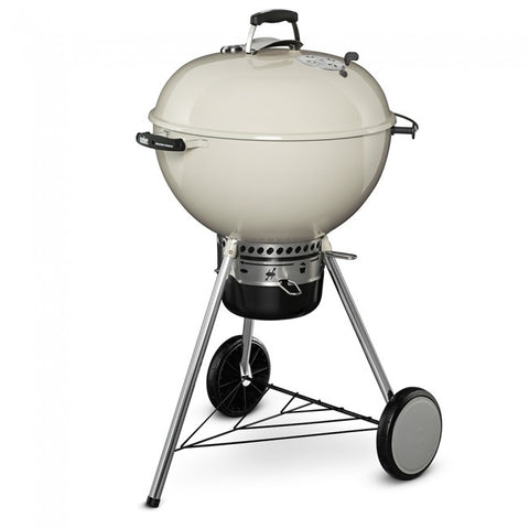 "Weber 22"" LTD. EDITION Master Touch Kettle-IVORY - Dickson Barbeque Centre Canada"