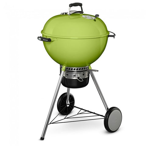 "Weber 22"" LTD. EDITION Master Touch Kettle-SPRING GREEN - Dickson Barbeque Centre Canada"
