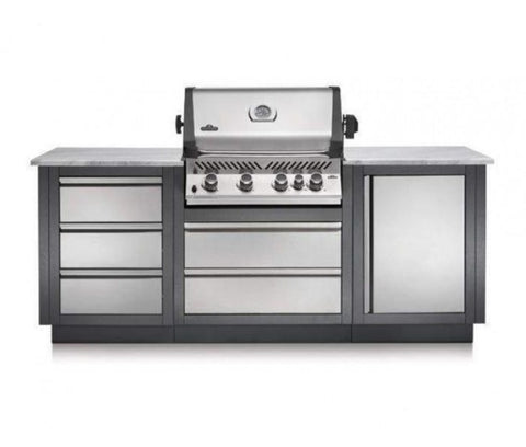 OASIS 100 Kitchen P500RB Grill