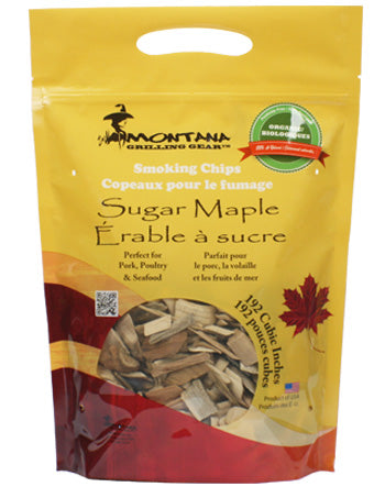 Montana Wood Chips - Sugar Maple - Dickson Barbeque Centre Canada
