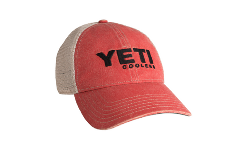 Yeti Washed Low Profile Trucker Hat - Dickson Barbeque Centre Canada