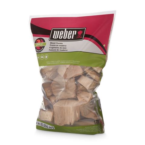 Weber Weber Wood Chunks - Apple - Dickson Barbeque Centre Canada