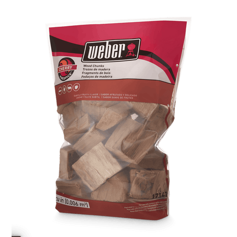 Weber Weber Wood Chunks - Cherry - Dickson Barbeque Centre Canada