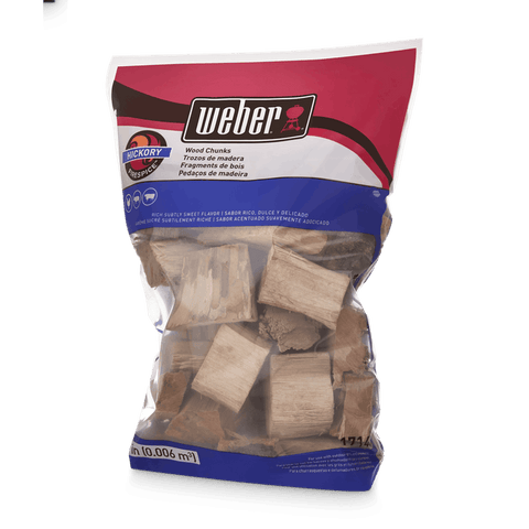 Weber Weber Wood Chunks - Hickory - Dickson Barbeque Centre Canada
