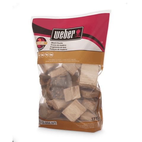 Weber Weber Wood Chunks - Pecan - Dickson Barbeque Centre Canada