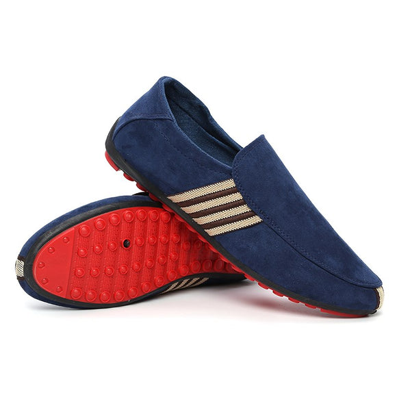 Men Summer Style Soft  Peas Driving Loafer Shoes