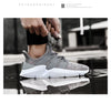 Men High Quality Fly Weaving Damping Sneakers