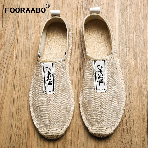 Breathable Hemp Lazy Flats Loafers