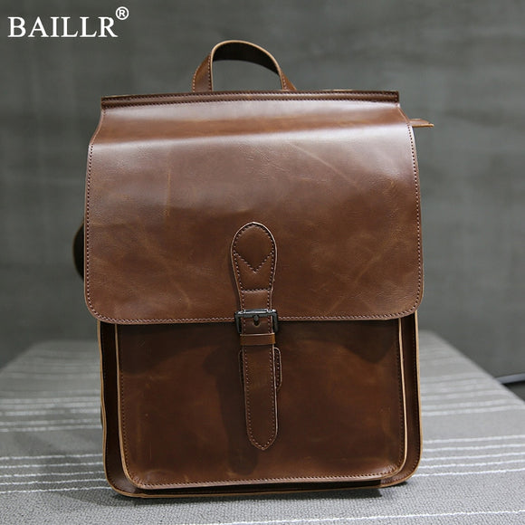 PU leather Vintage backpack