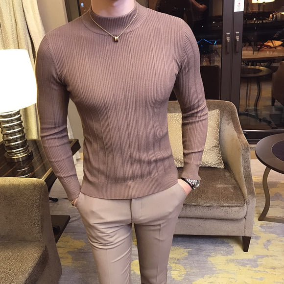 Mens Knitted Boutique Cotton Sweater