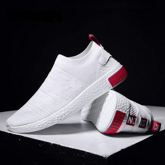 Men Socks Shoes Sneakers Without Lace