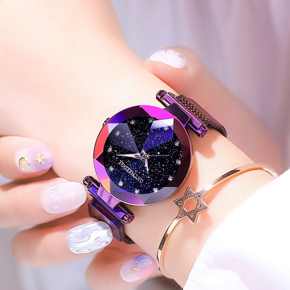 Women Quartz Watch With Steel Belt