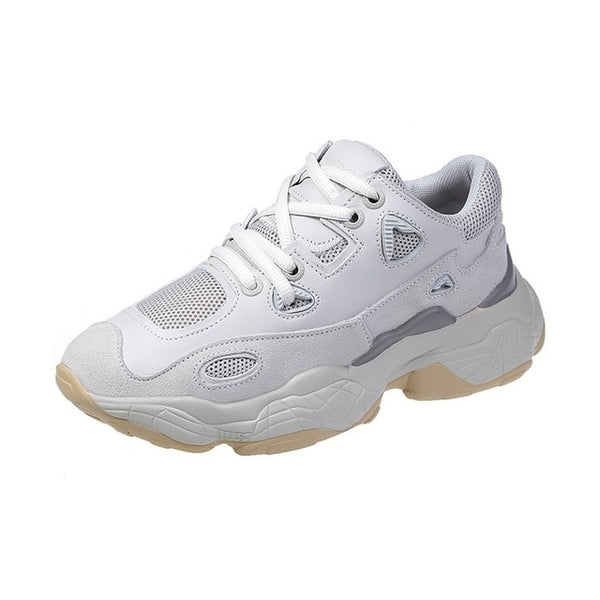 Women Mesh Chunky Sneakers