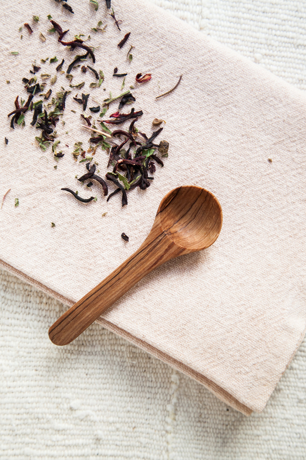 Olive Wood Masala Tea Scoop