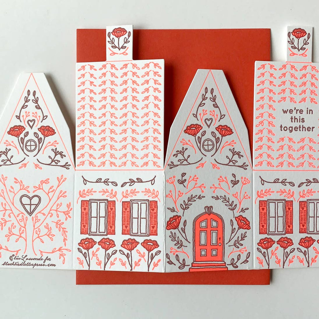 In This Together - 3D House Card