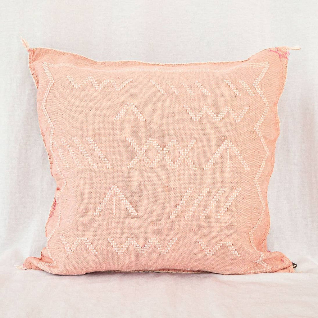 Moroccan Cactus Silk Pillow