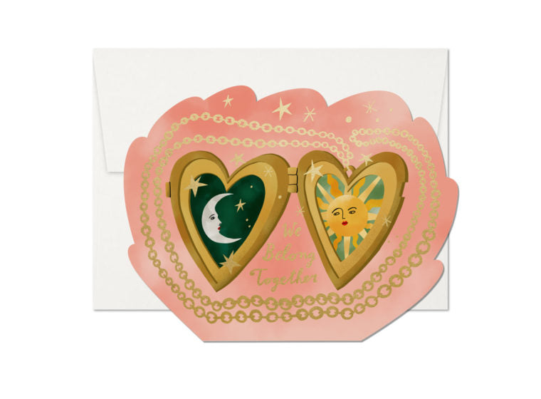 Locket Love Greeting Card