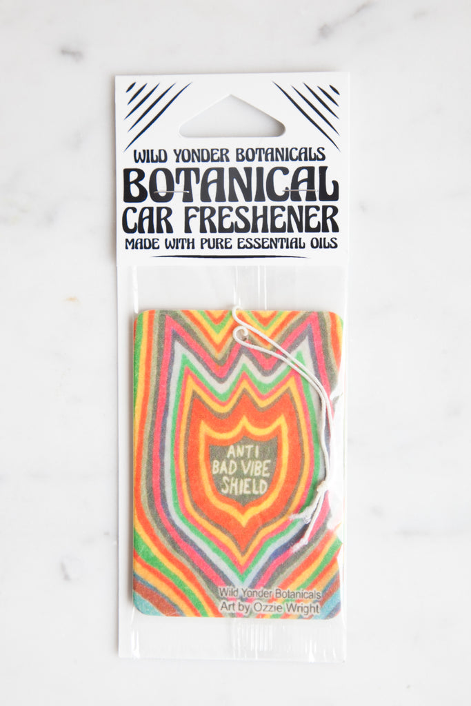 Anti Bad Vibe Shield: Botanical Car + Room Freshener