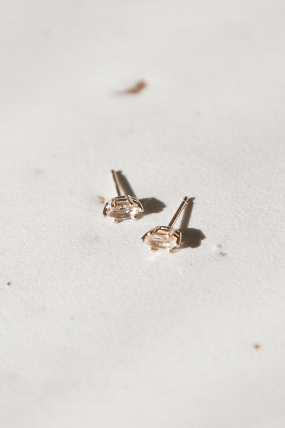 Marquise Topaz Studs