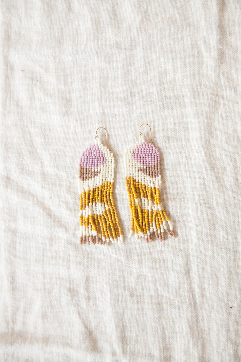 Yoake Aku Beaded Earrings