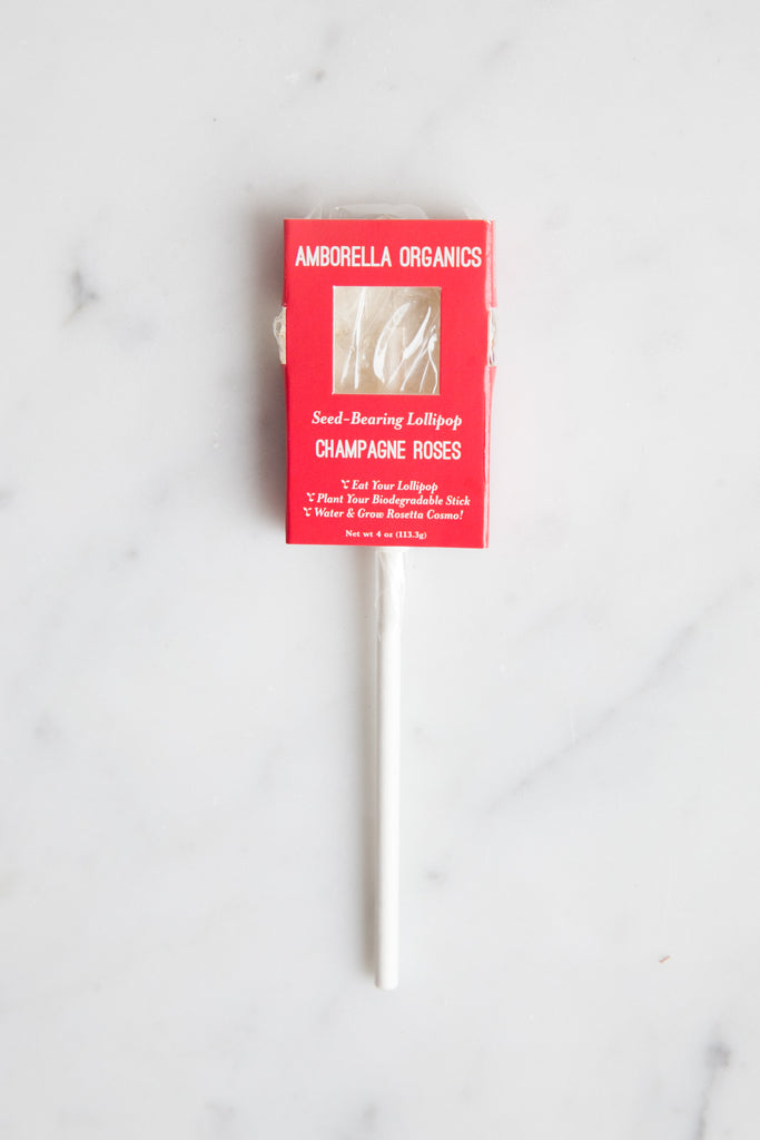 Plantable Herbal Lollipops