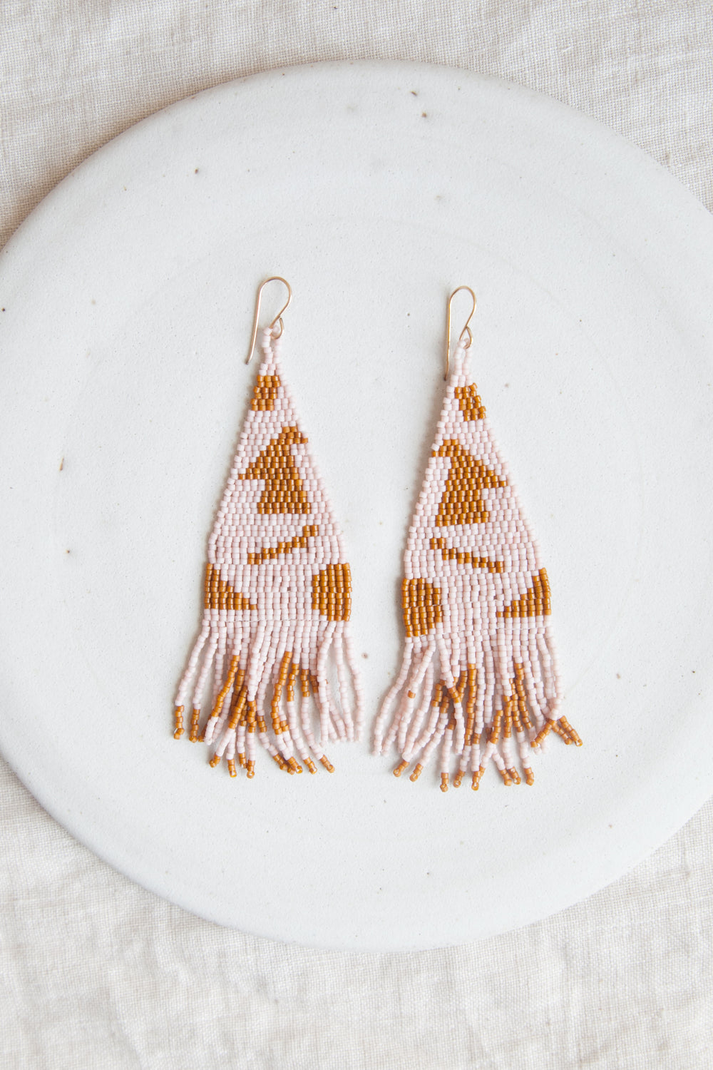 Katachi Beaded Earrings