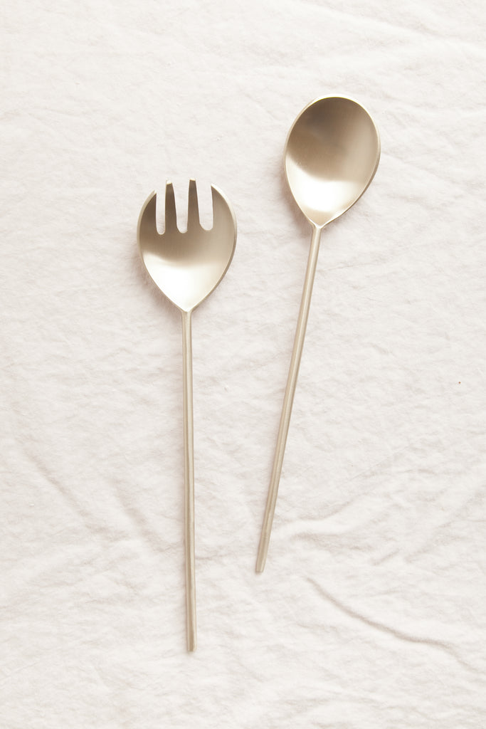 Brass Serving Spoons