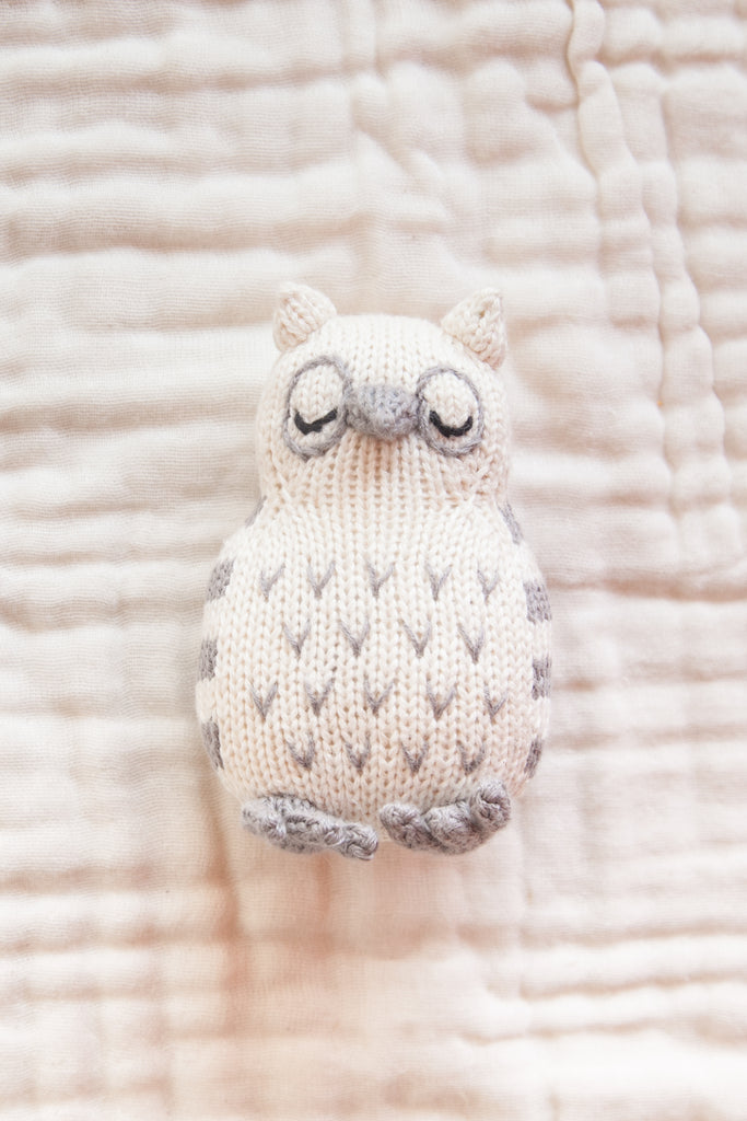 Baby Rattle - Little Owl