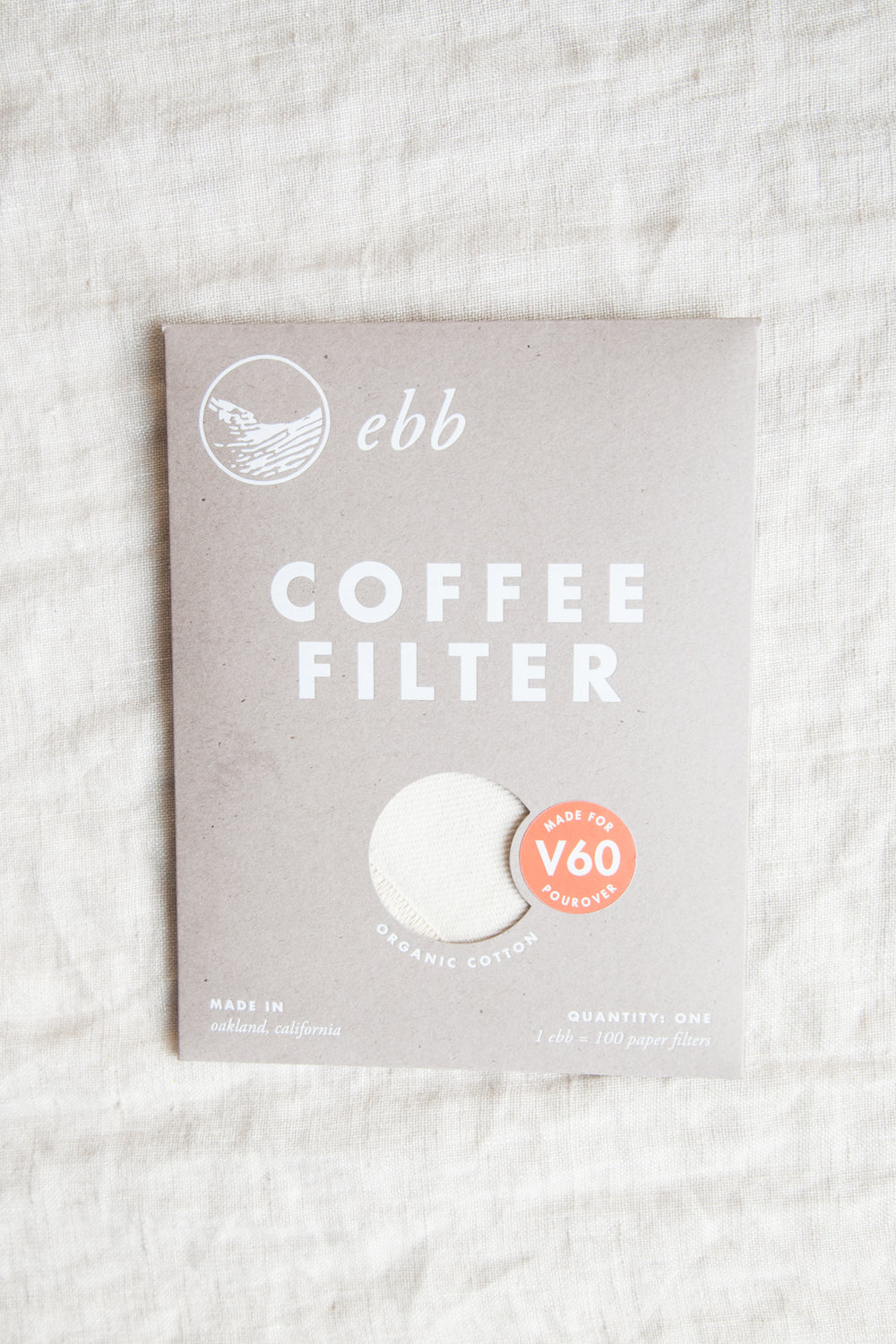 Ebb Reusable Coffee Filter