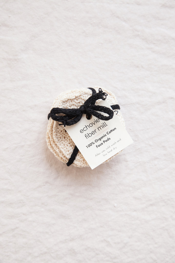 Organic Cotton Face Cleansing Pads