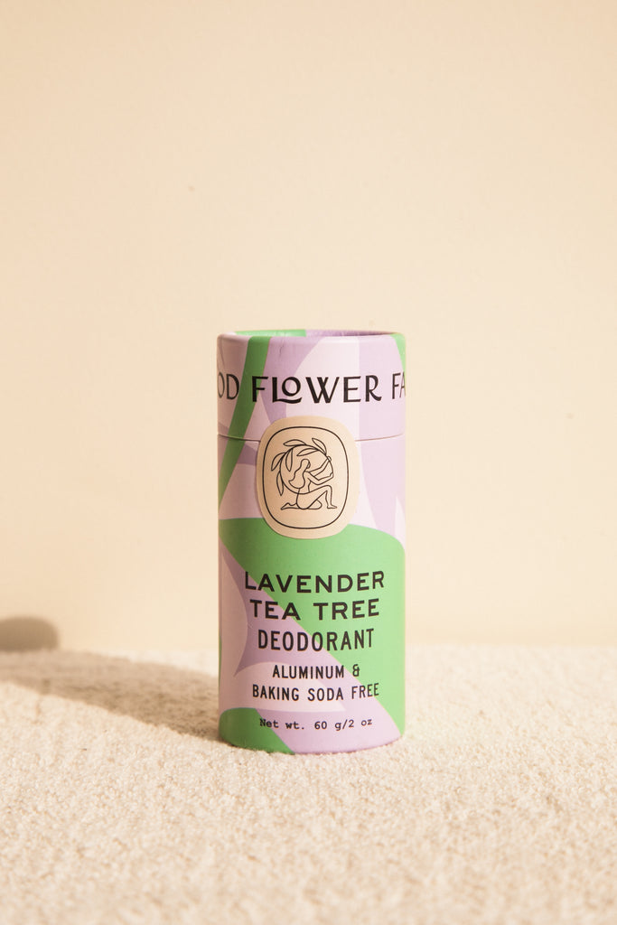Lavender Tea Tree Biodegradable Deodorant