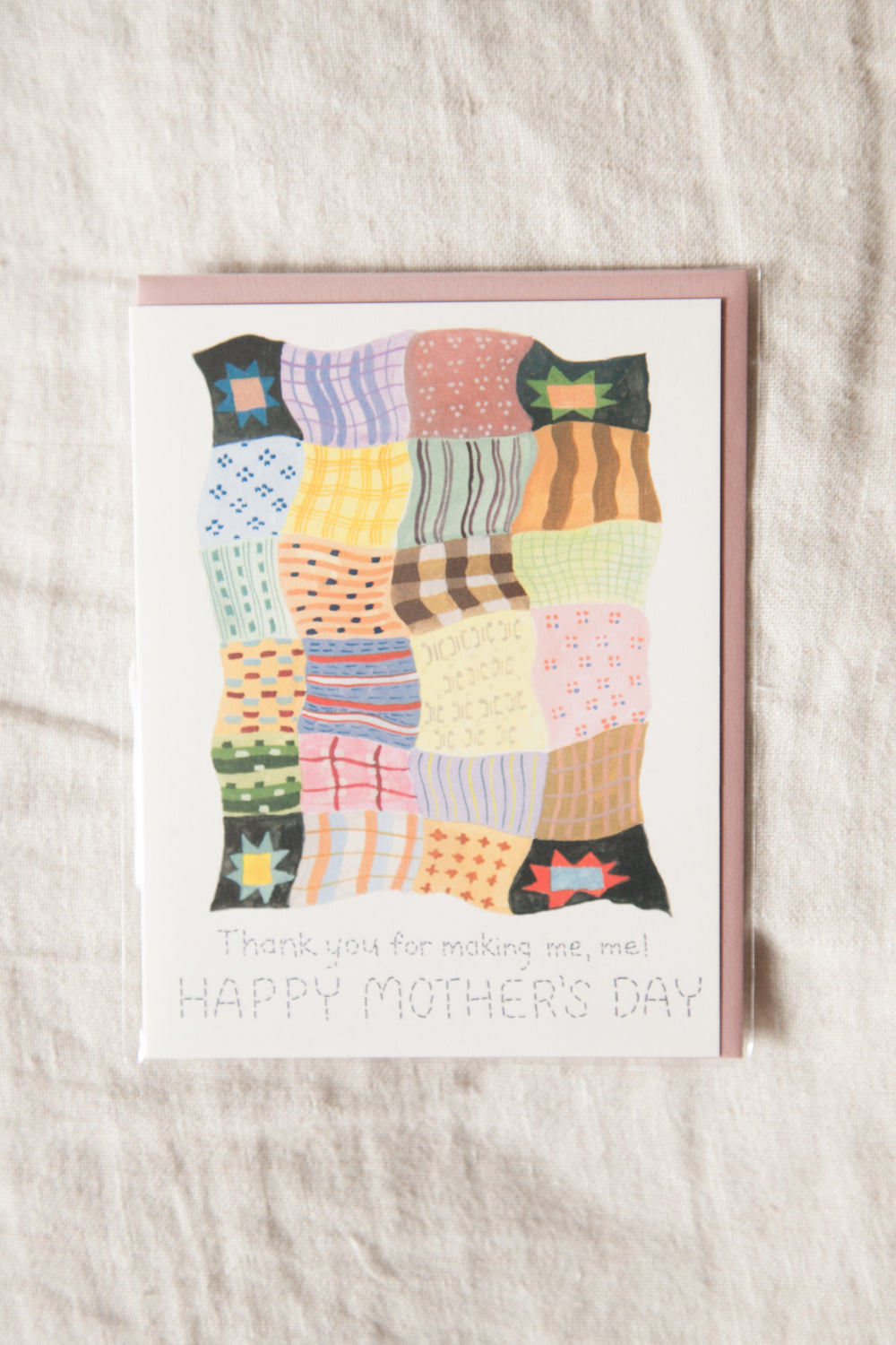 Mother's Day Quilt Greeting Card