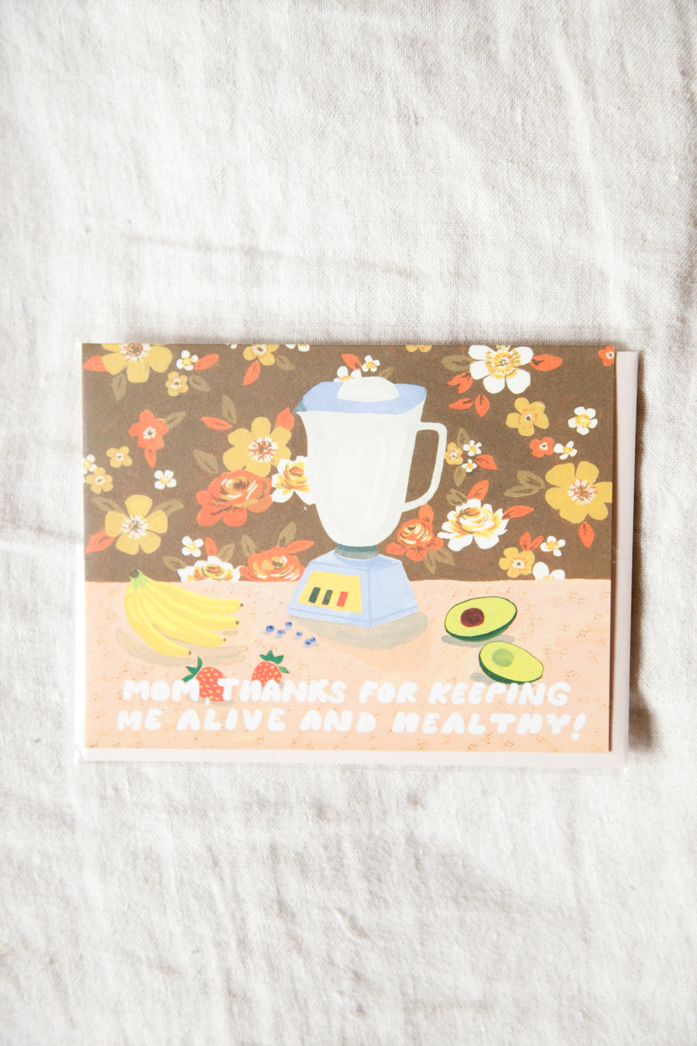 Thank You Mom Greeting Card
