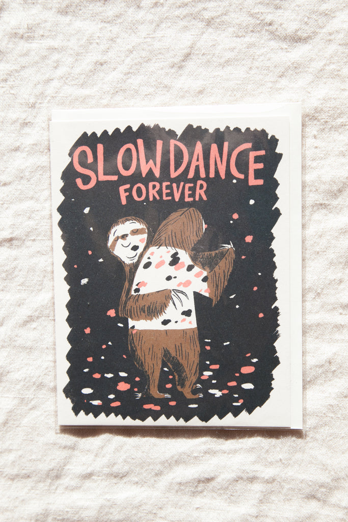 Slow Dance Forever Greeting Card
