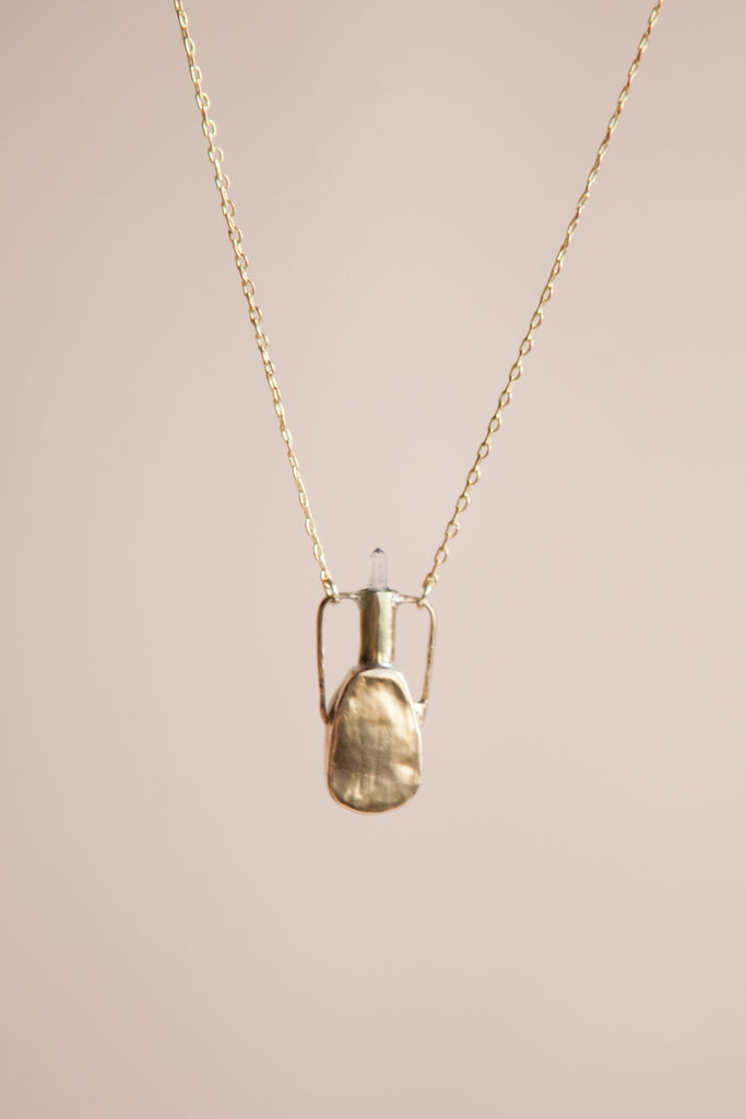 Amphora Amulet Necklace