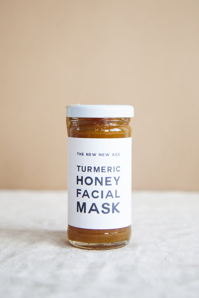 Turmeric Honey Facial Mask