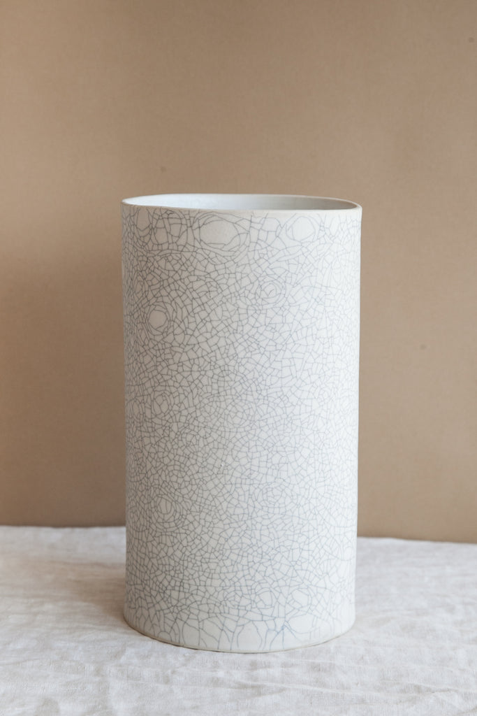 Large Vase / Crackle