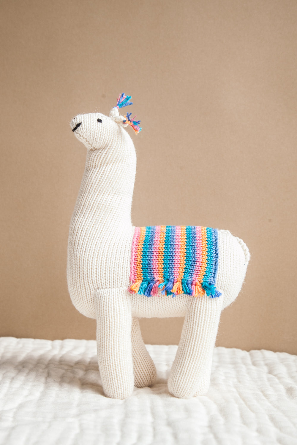 Rainbow Alpaca - Stuffed Toy