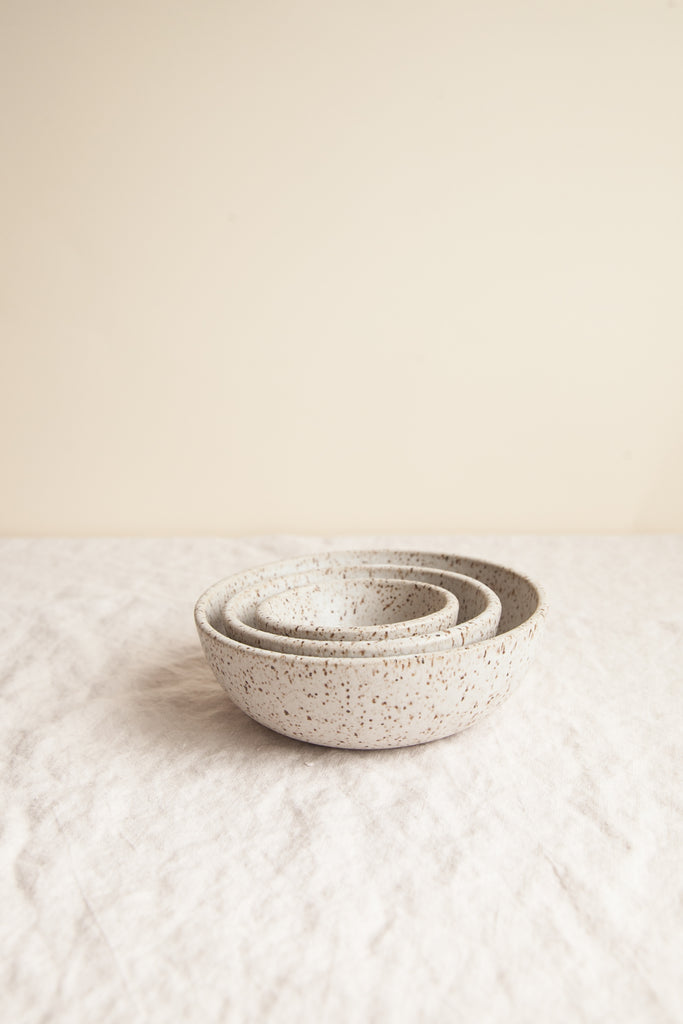 Nesting Spice Bowls / Pebble