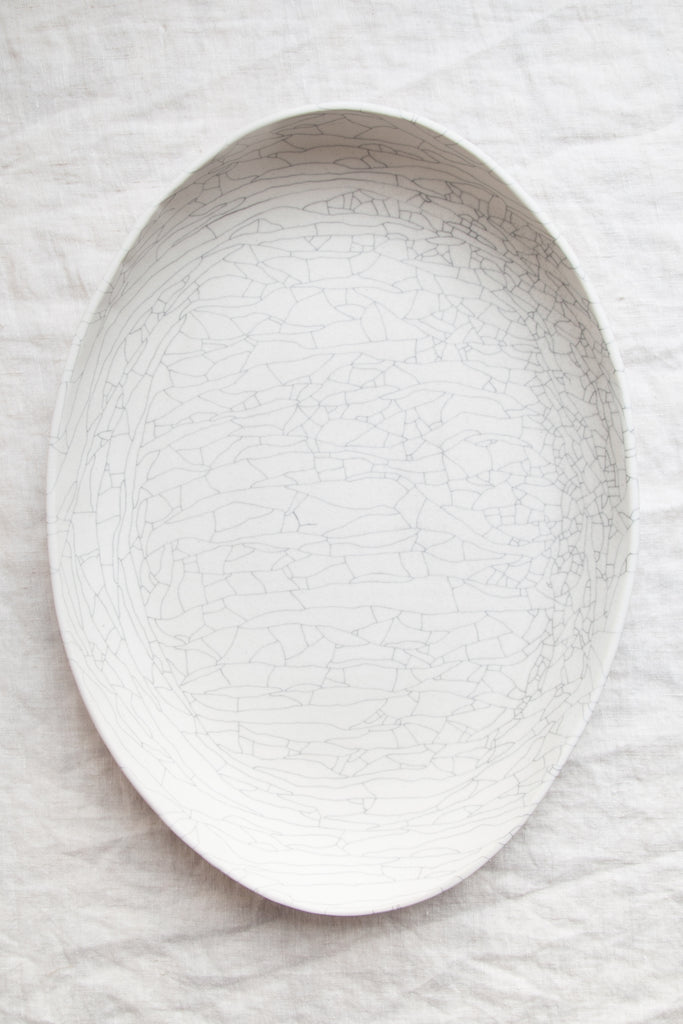 Gatherings Platter - Extra Large / Crackle