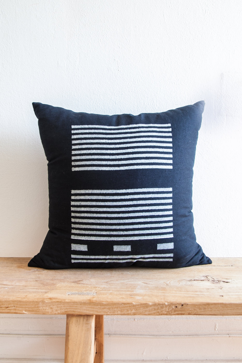 Agnes Block Print Pillow