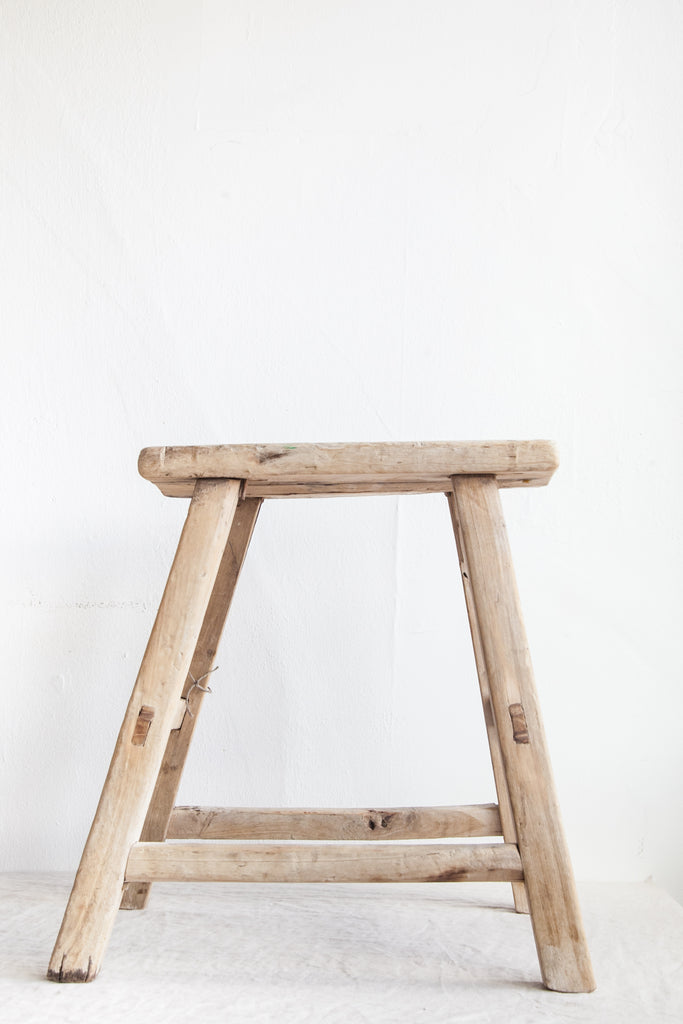 Antique Milking Stool