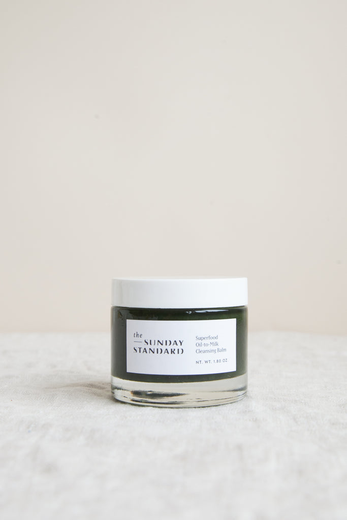 Superfood Oil-to-Milk Cleansing Balm