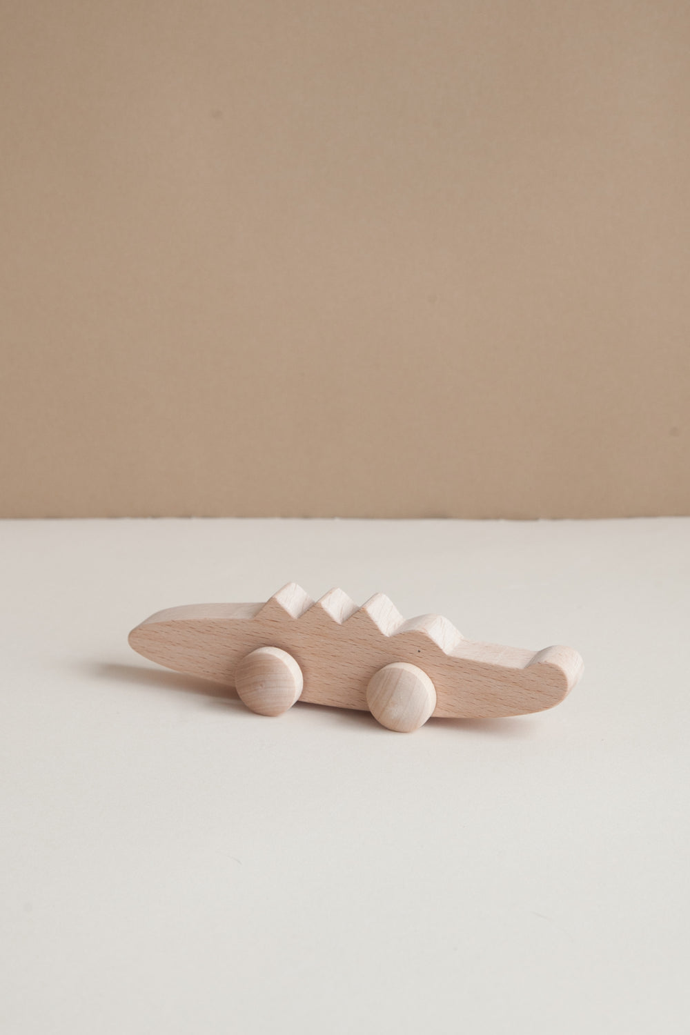 Wooden Crocodile Toy