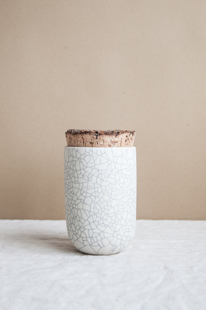 Tea Jar / Crackle