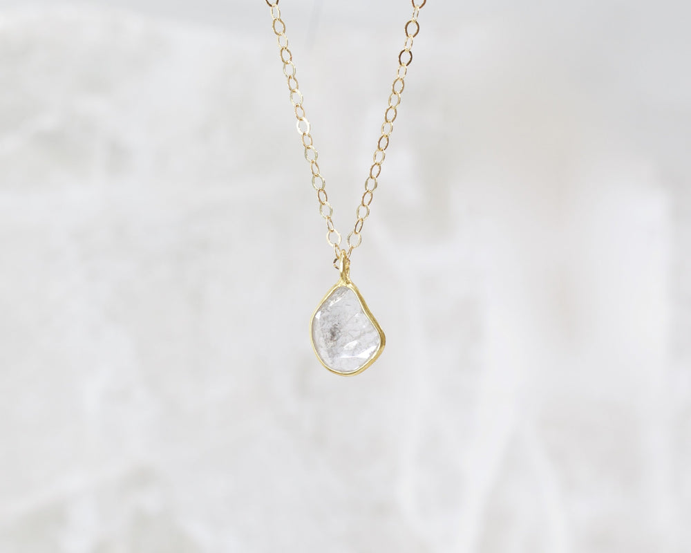 Selene Raw Diamond Necklace