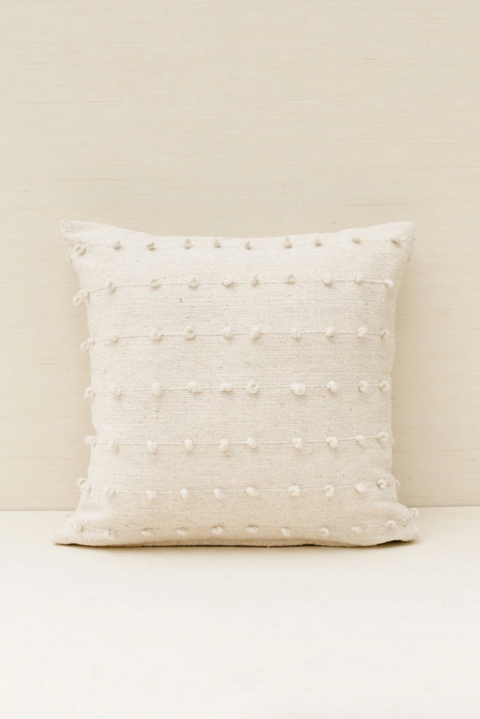 Loops Pillow - Cream