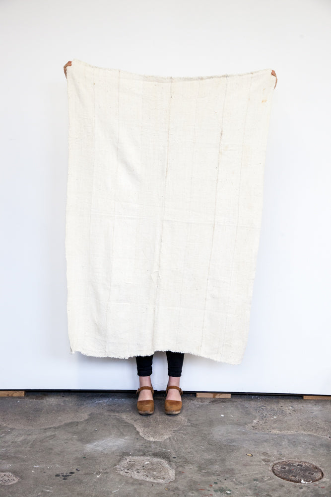 Mud Cloth / Plain White