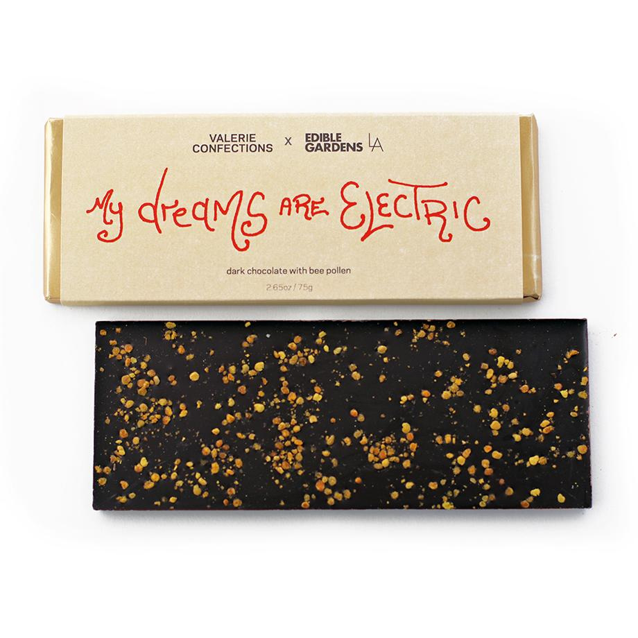 My Dreams are Electric / Chocolate with bee pollen